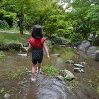 大阪周辺水遊び公園スポット 梅小路公園