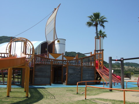 淡路島国営明石海峡公園(兵庫県淡路島) 水遊び公園 兵庫県