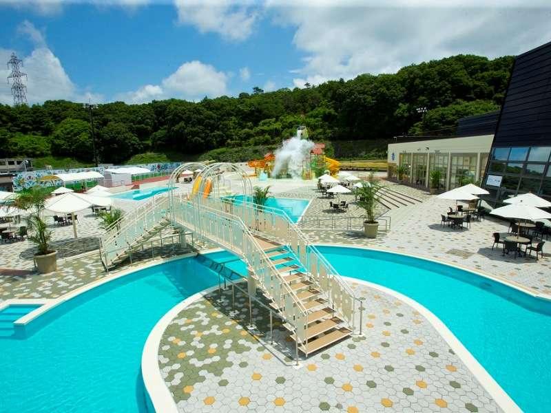 ネスタリゾート神戸のプール water fort